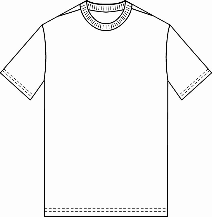 Blank Tshirt Template Best Of the Sketchpad Blank T Shirt Template