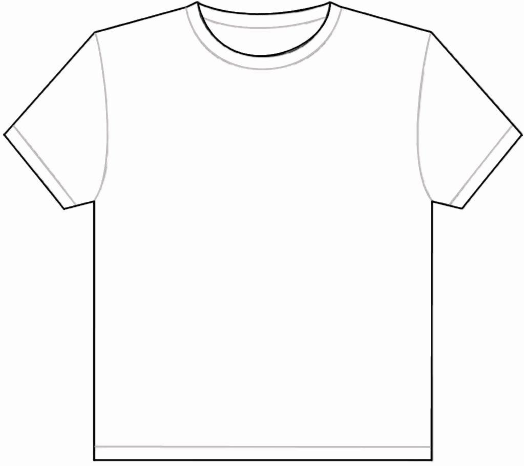 Blank Tshirt Template Elegant Blank Tshirt Free Download Clip Art Free Clip Art