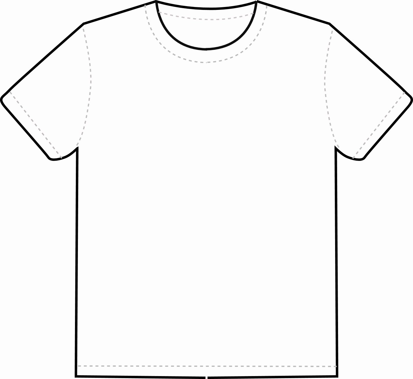 Blank Tshirt Template Inspirational Free T Shirt Template Printable Download Free Clip Art
