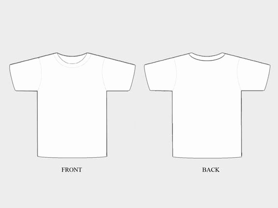 Blank Tshirt Template New 41 Blank T Shirt Vector Templates Free to Download