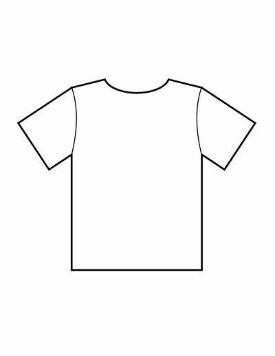 Blank Tshirt Template Unique Blank T Shirt Templates
