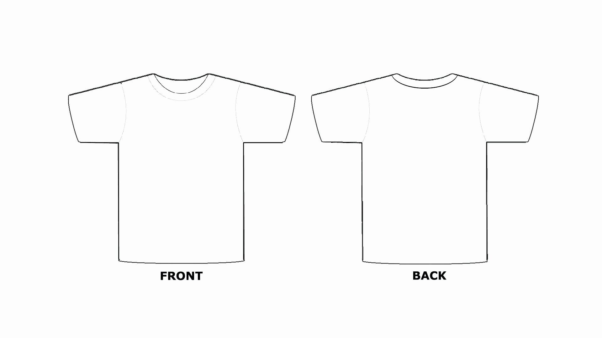 Blank Tshirt Template Unique Blank Tee Shirt Template – Emmamcintyrephotography