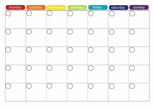 Blank Weekly Menu Awesome Monthly Menu Plan Printable Picklebums