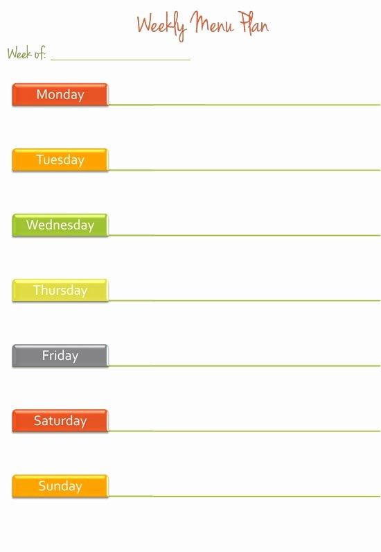Blank Weekly Menu New Weekly Menu Planning Help Green Eggs and Goats Blog