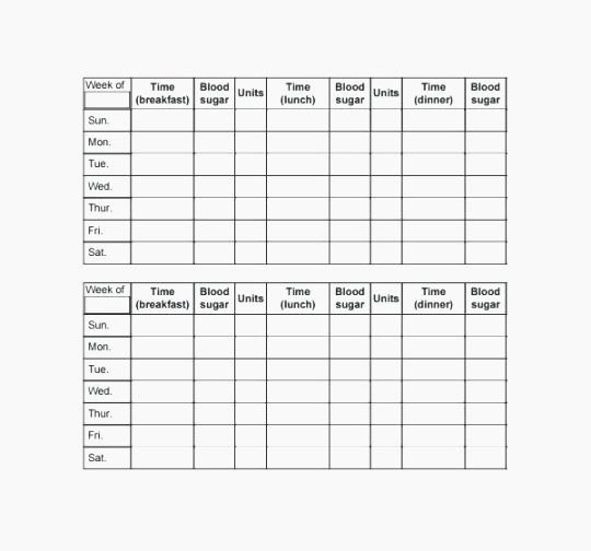 Blood Sugar Log Template Excel Beautiful Best 43 Agile Blood Glucose Log Sheet Printable