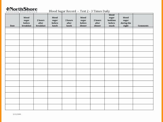 Blood Sugar Log Template Excel New Gestational Diabetes Log Sheet and Blood Glucose