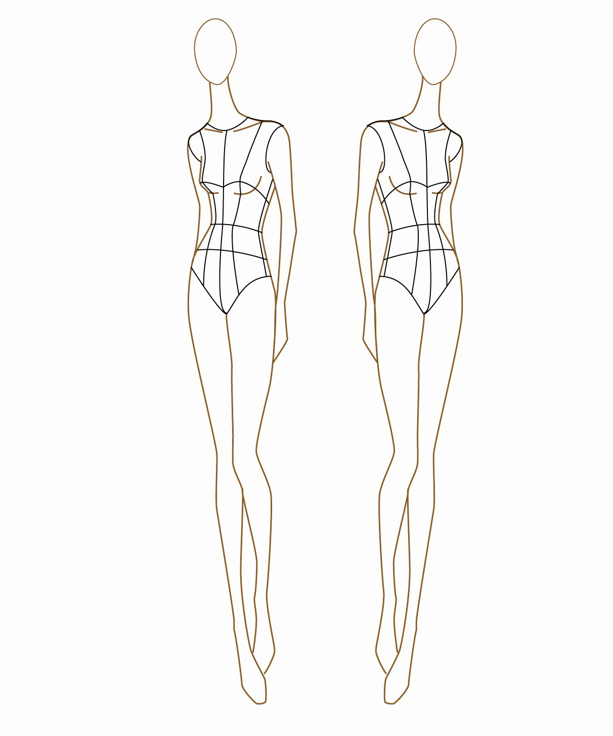 "Body Drawing Template Unique ""i Don T Do Fashion I Am Fashion "" Fashion Figure"