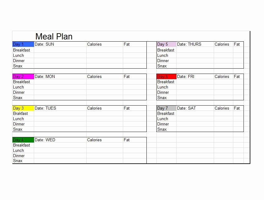 Bodybuilding Meal Plan Template Luxury Easy Meal Plan for Muscle Gain Diet Plan