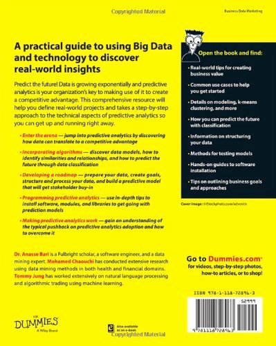 Book for Dummies Template Awesome Predictive Analytics for Dummies for Dummies Series