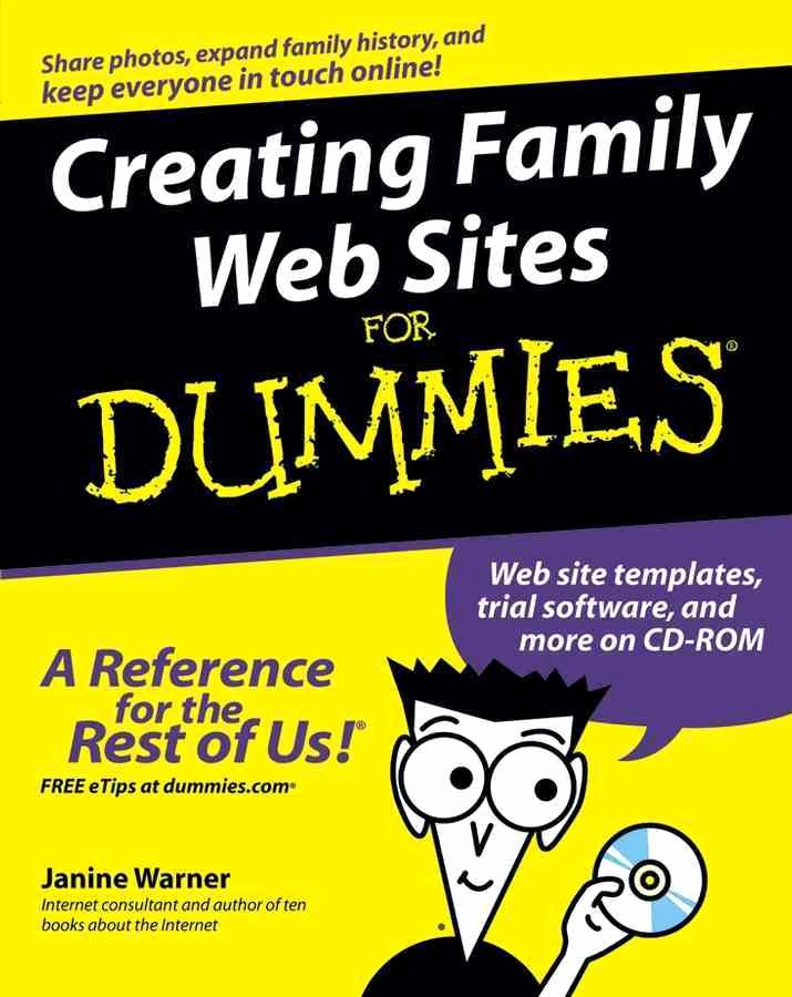 Book for Dummies Template Best Of Creating Family Web Sites for Dummies Pdf Descargar Gratis