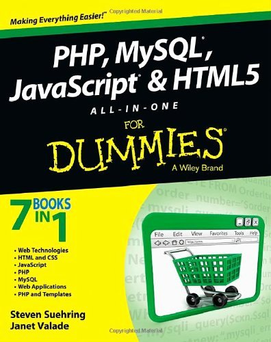 Book for Dummies Template Best Of PHP Mysql Javascript & HTML5 All In E for Dummies