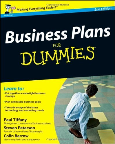 Book for Dummies Template Elegant Business Plan for Dummies Business Plan Business