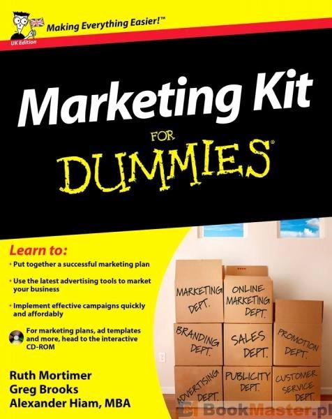 Book for Dummies Template Lovely Literatura Obcojęzyczna Marketing Kit for Dummies Uk