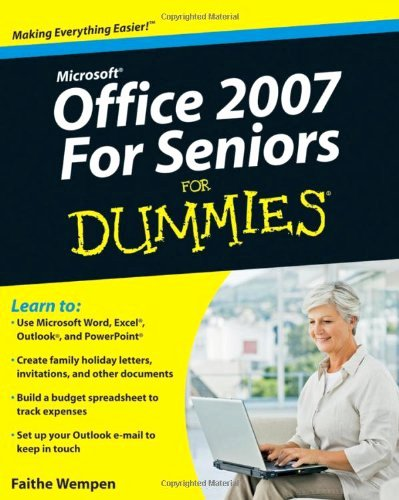 Book for Dummies Template New Microsoft Fice 2007 for Seniors for Dummies Pdf