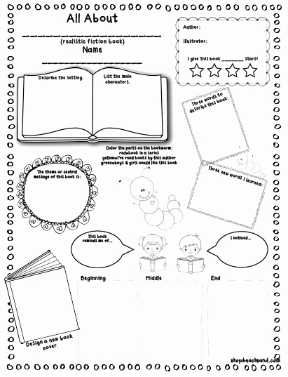 Book Review Template Pdf Luxury Book Report Outline for 3rd Graders Lynuz