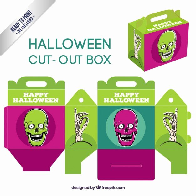 Box Cut Outs Best Of Halloween Cut Out Box Vector
