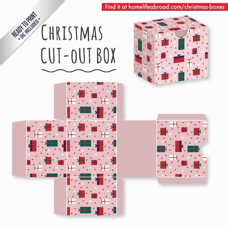 Box Cut Outs Luxury 39 Best Christmas Cut Out Boxes Diy Images On Pinterest