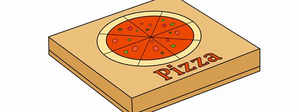 Box Cut Outs Luxury Pizza Box Cut Out –