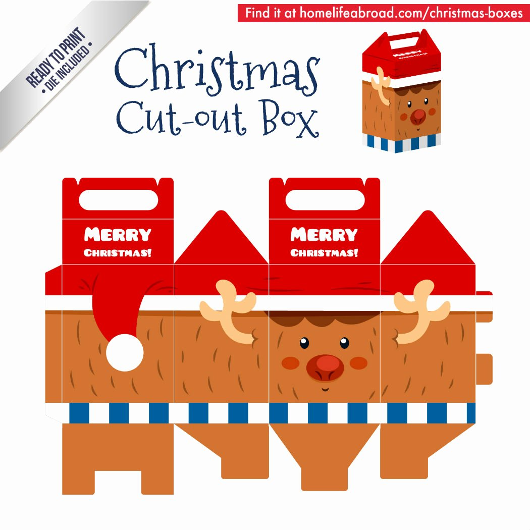 Box Cut Outs New Mega Collection Of 38 Cut Out Christmas Box Templates