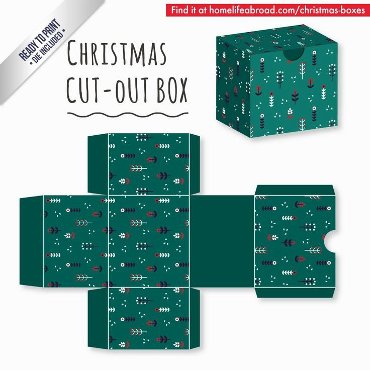Box Cut Outs Unique 39 Best Christmas Cut Out Boxes Diy Images On Pinterest