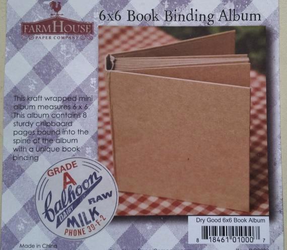 Brag Book Cover Page Template Best Of 6x6 Chipboard Book Binding Album Scrapbook Mini Album Brag