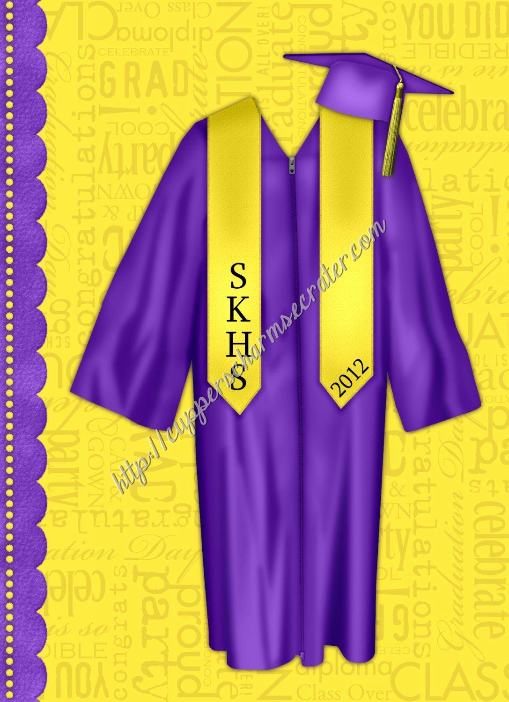 "Brag Book Cover Page Template Luxury Brag Book 5"" X 7"" Size Yellow & Purple Senior Brag Book"