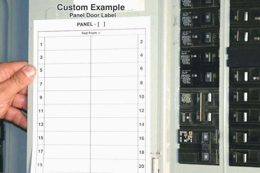 Breaker Box Label Template Fresh top 41 Amazing Free Printable Circuit Breaker Panel Labels
