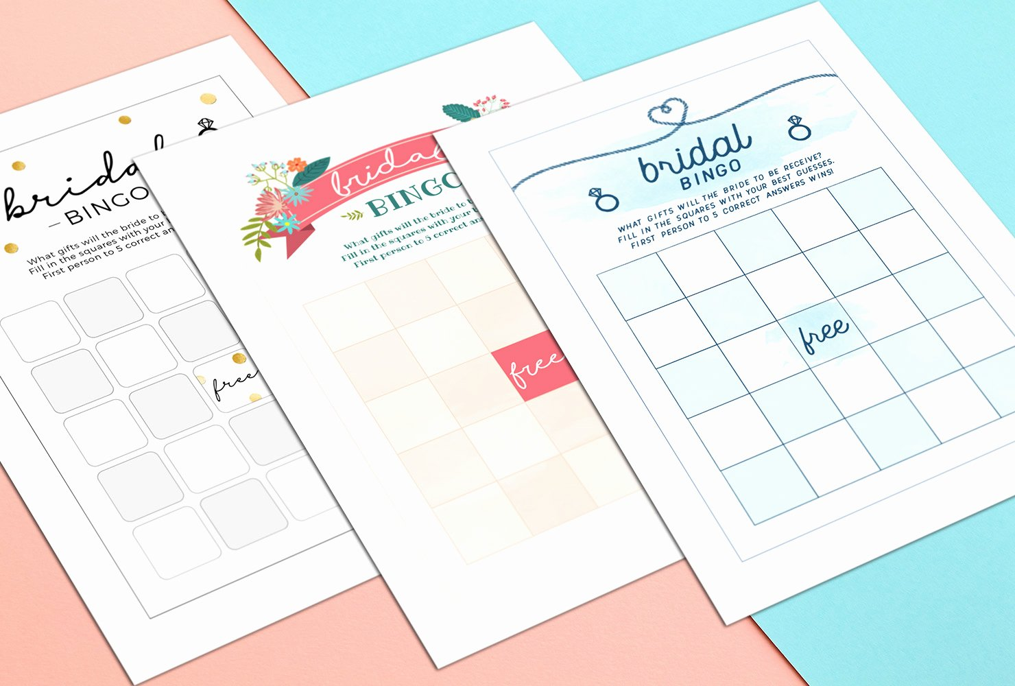 Bridal Bingo Template Best Of How to Play Bridal Shower Bingo with Printables