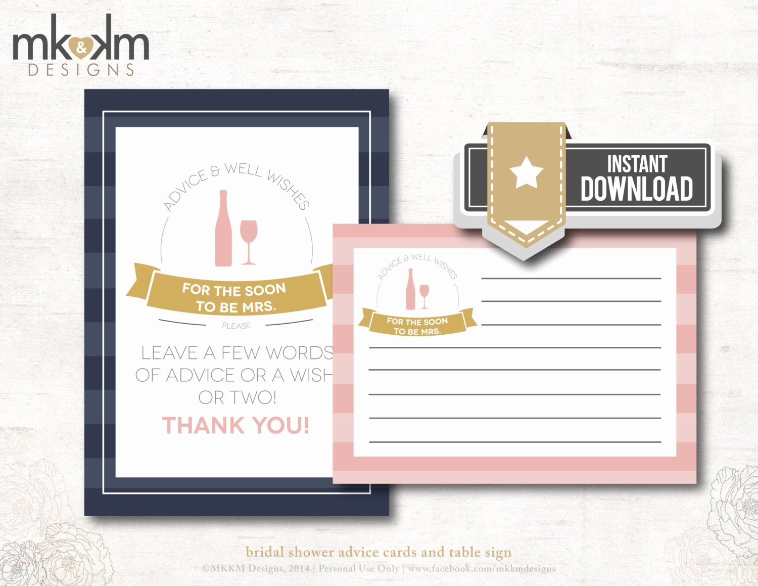 Bridal Shower Advice Cards Awesome Advice & Well Wishes Cards Bridal Shower Advice by