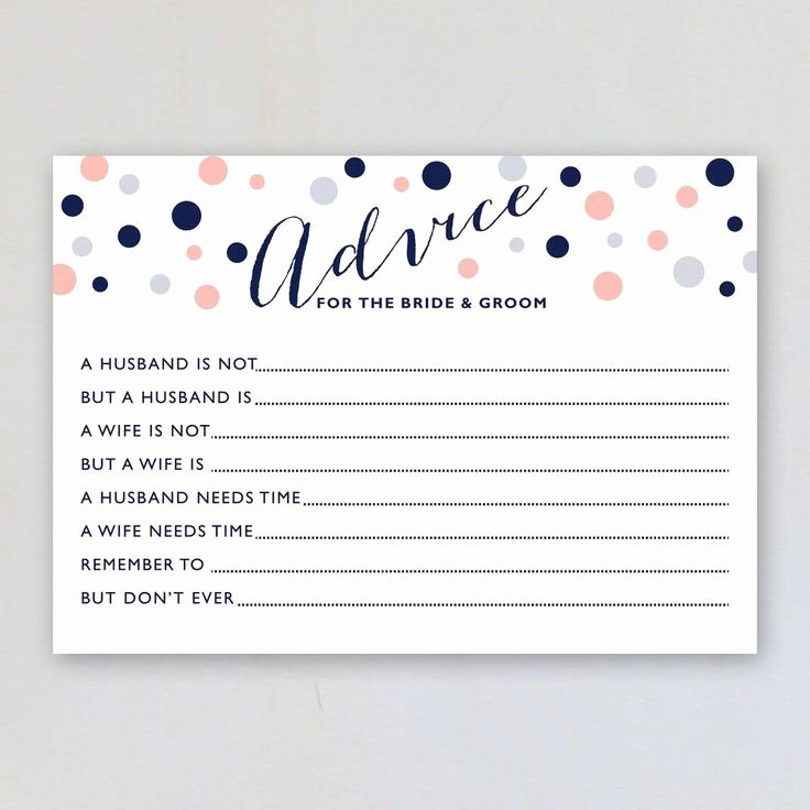 Bridal Shower Advice Cards Beautiful Best 25 Marriage Advice Cards Ideas On Pinterest