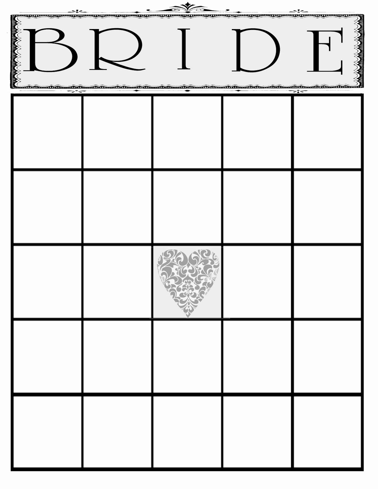 Bridal Shower Bingo Template Free Luxury the Creative Pointe A Beautiful Bridal Shower and A