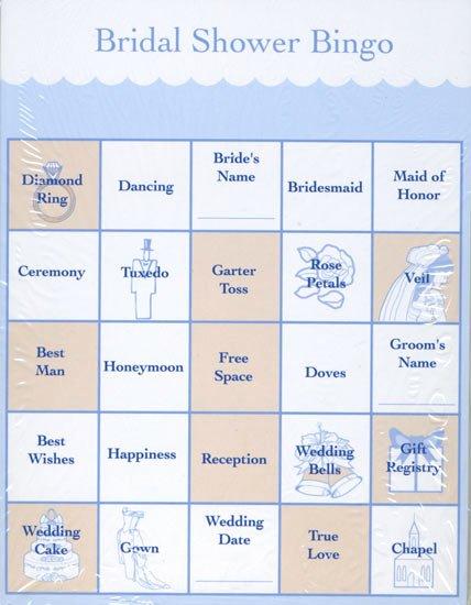 Bridal Shower Bingo Template Inspirational Wedding Bridal Shower Party Bingo Cards 24 Game Cards