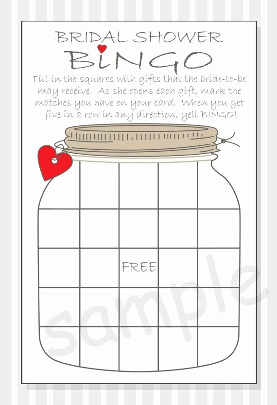 Bridal Shower Bingo Templates Unique 216 Best Purple Bridal Shower Images On Pinterest