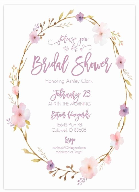 Bridal Shower Menu Template Awesome 13 Bridal Shower Templates that You Won T Believe are Free