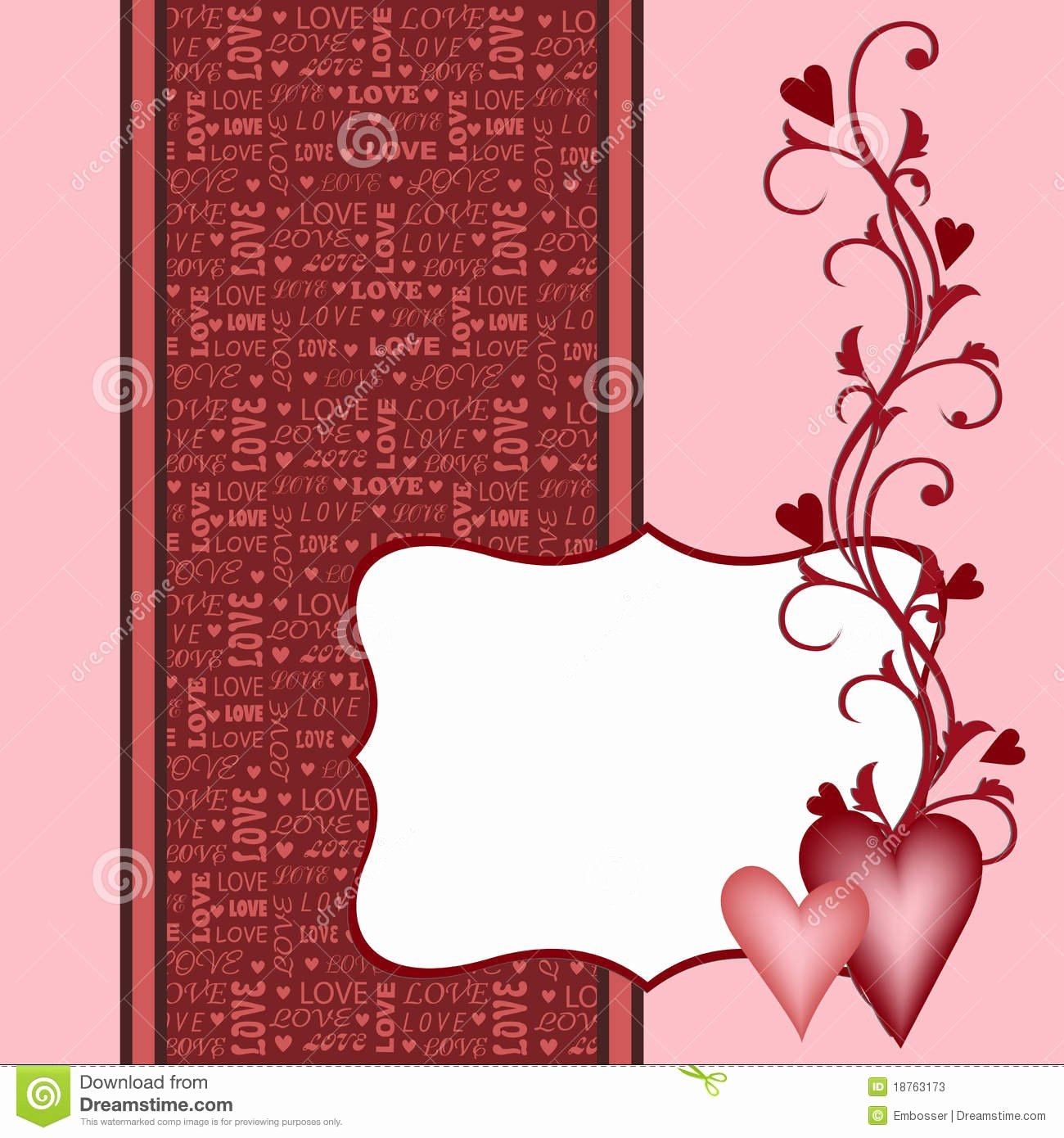 Bridesmaid Card Template New Template for Valentine Wedding Greetings Card Stock