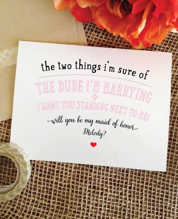 Bridesmaid Proposal Letter Best Of Light Pink Funny Bridesmaid Card Personalized Will You