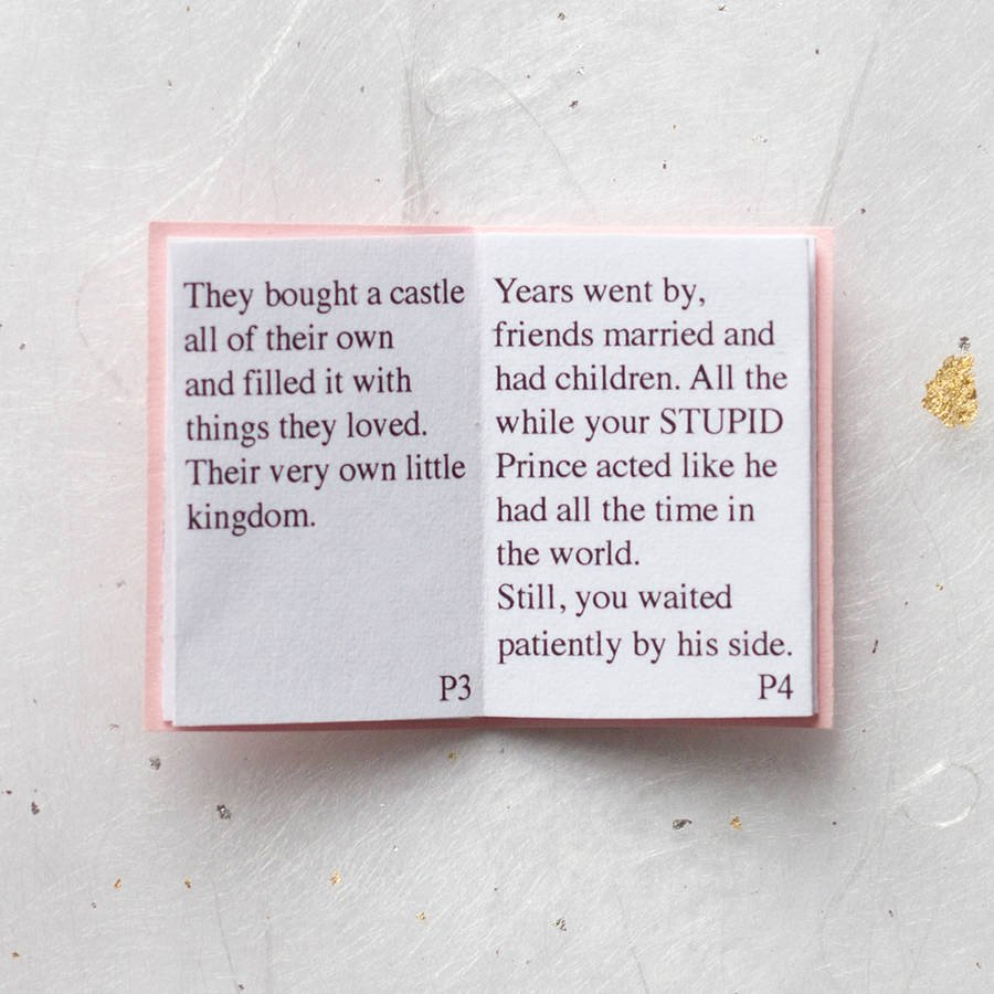 Bridesmaid Proposal Letter Best Of Will You Marry Me Wedding Proposal Mini Book by Little