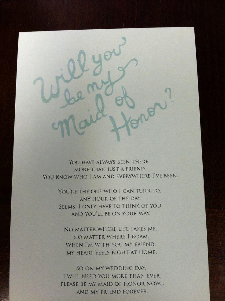 Bridesmaid Proposal Letter Luxury 25 Best Ideas About Bridesmaid Letter On Pinterest