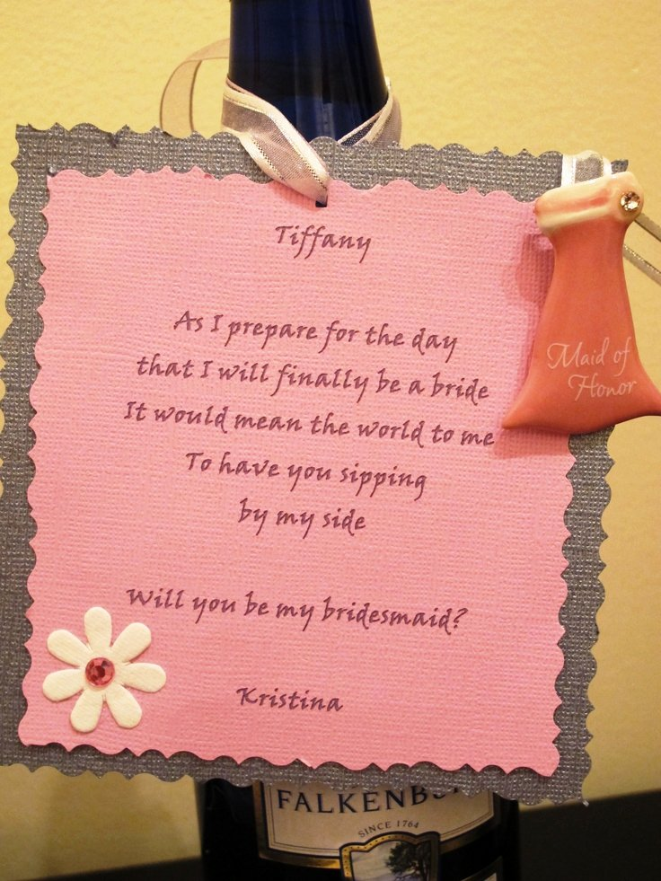 Bridesmaid Proposal Letter Luxury Will You Be My Bridesmaid