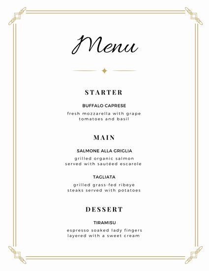 Brunch Menu Templates Awesome Customize 2 074 Menu Templates Online Canva
