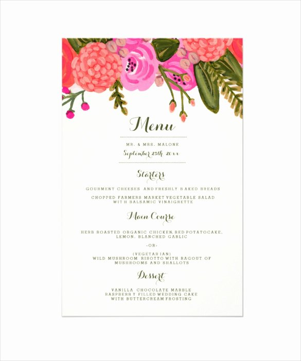 Brunch Menu Templates Best Of 30 Dinner Menu Templates Psd Word Ai Illustrator