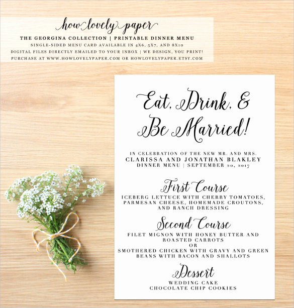 Brunch Menu Templates Luxury Dinner Menu Templates – 36 Free Word Pdf Psd Eps