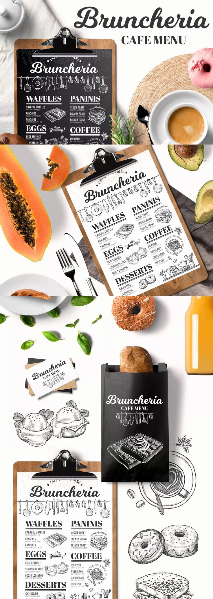 Brunch Menu Templates New 62 Best Food Menu Templates Images On Pinterest