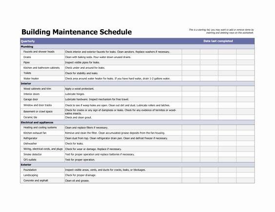 Building Maintenance Schedule Fresh Pinterest • the World's Catalog Of Ideas