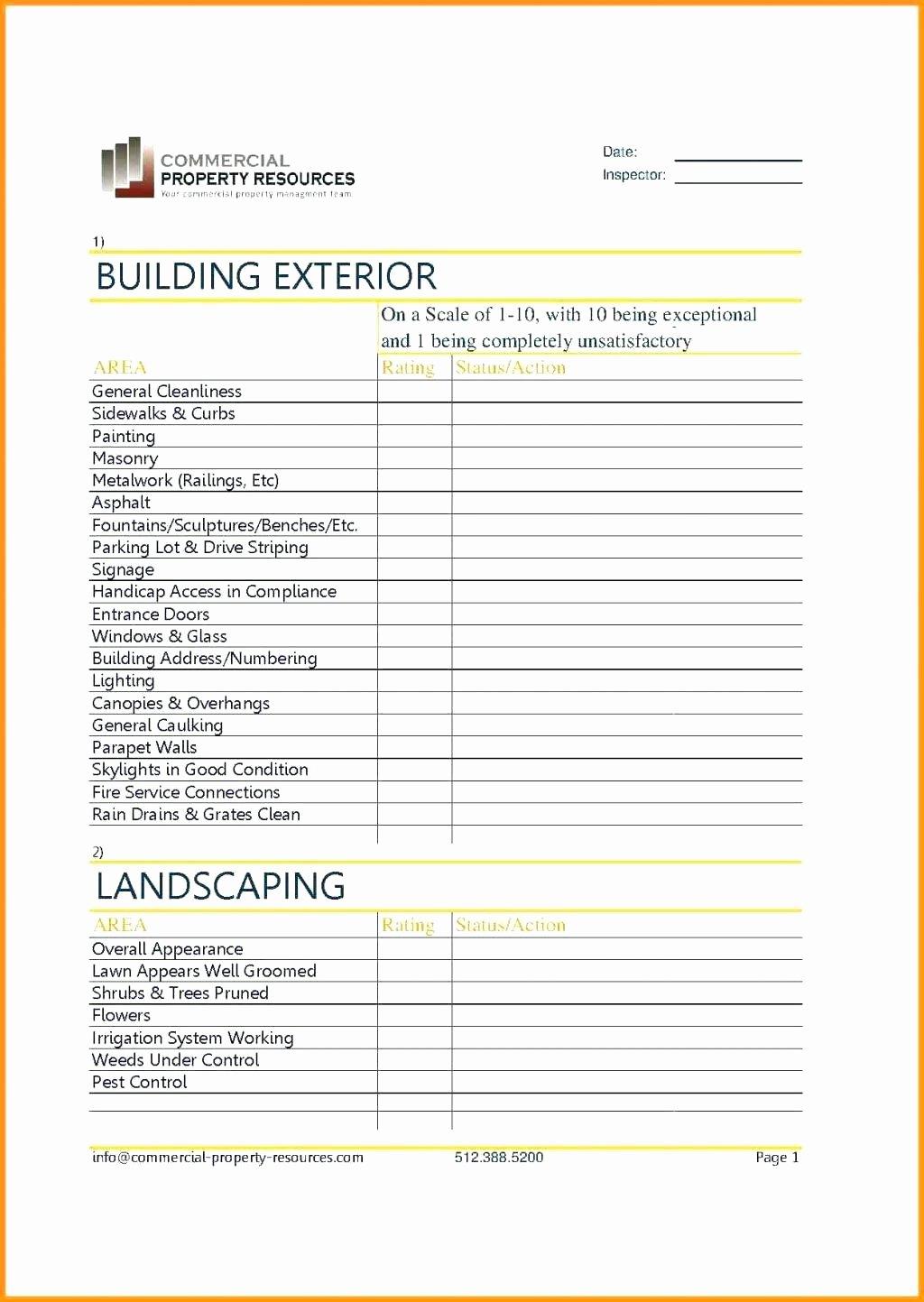 Building Maintenance Schedule Inspirational Building Maintenance Schedule Template