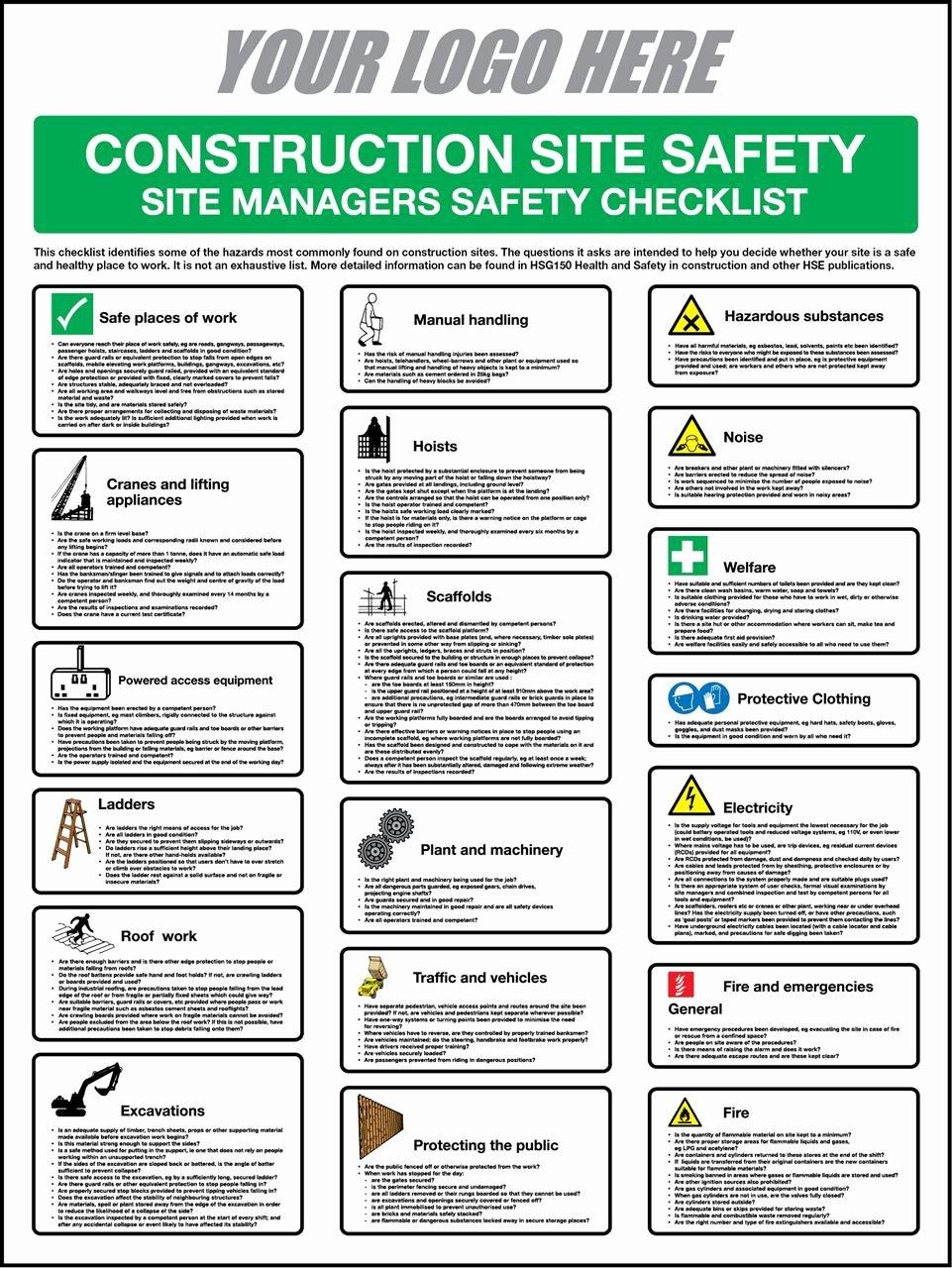 Building Security Checklist Luxury Building Security Checklist Template