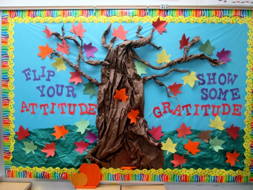 Bulletin Board Tree Template Beautiful 8 Quick Ideas for the Week before Thanksgiving