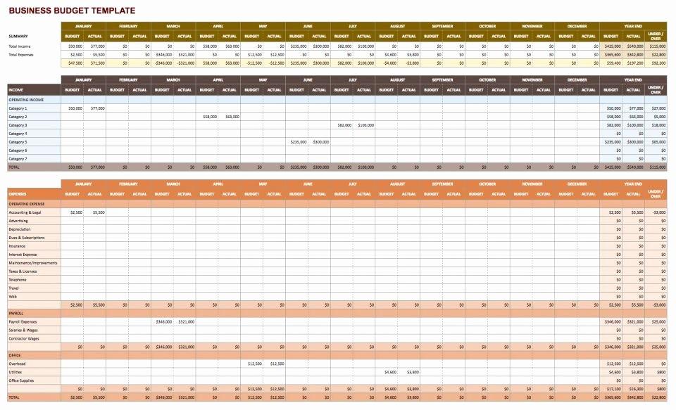 Business Budget Excel Template Unique Free Google Docs Bud Templates