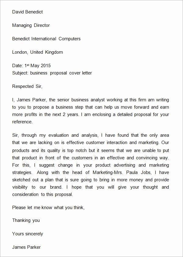 Business Collaboration Letter Sample Lovely Business Proposal Letter 16 Download Free Documents In