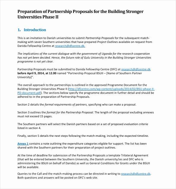 Business Collaboration Letter Sample Unique 20 Business Collaboration Proposal Letter Sample